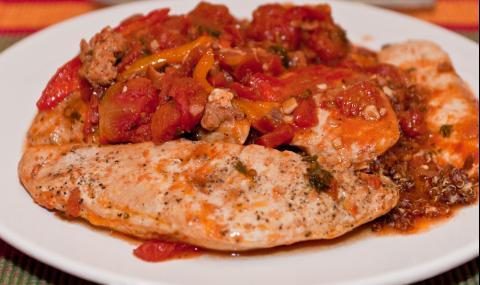 Рецепта за вечеря: Пиле лютика