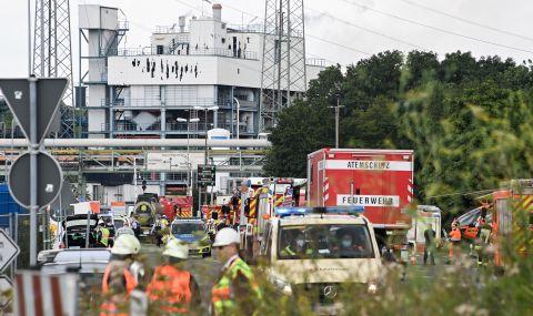 Голяма експлозия в германски завод - 1