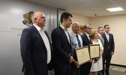 Петков връчи три сертификата за инвестиции клас А на стойност над 54 млн. лв.  - 1