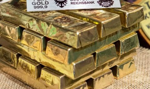 Откриха тонове нацистко злато