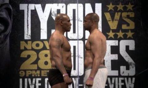 Странната битка между Майк Тайсън и Рой Джоунс-младши предстои