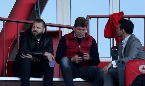 Стойчо Стоилов се оплака от съдийството на дербито с Левски