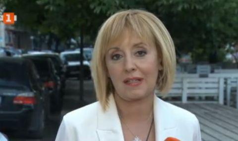 Мая Манолова: Избирателите проявиха мъдрост, сега е ред на политиците