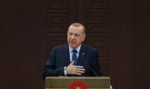 Ердоган: Бъдещето на Турция е в Европа
