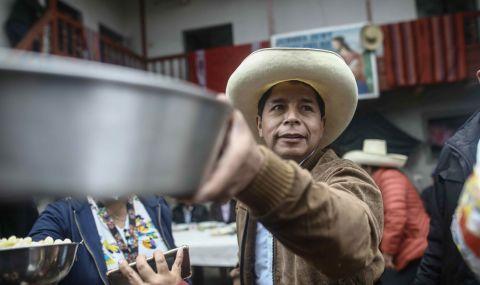Педро Кастило обяви победа в Перу