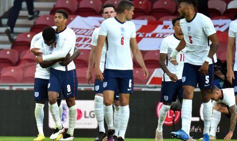 Англия се измъчи срещу Австрия, но победи