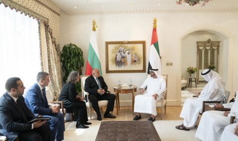 Борисов се срещна с престолонаследника на Абу Даби, кани да инвестират