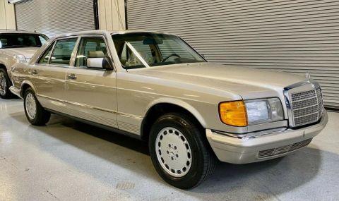 Продава се уникален Mercedes-Benz W126 с пробег 4 700 км - 1