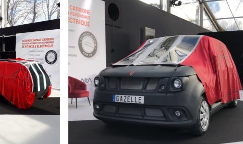 Нов френски електромобил, който не се зарежда от мрежата (ВИДЕО)