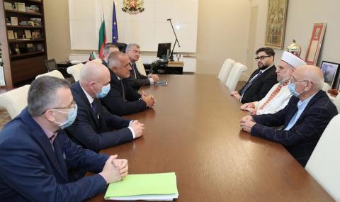 Борисов се срещна с главния мюфтия д-р Мустафа Хаджи - 2