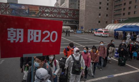 Коронавирус в Пекин: Kато в затвор със специален режим