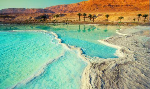 Учени направиха уникално откритие в Мъртво море - 1