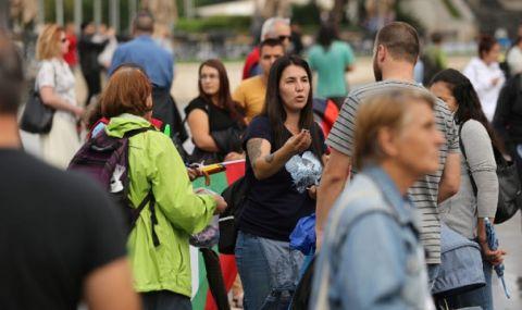Протест срещу COVID мерките в София - 1