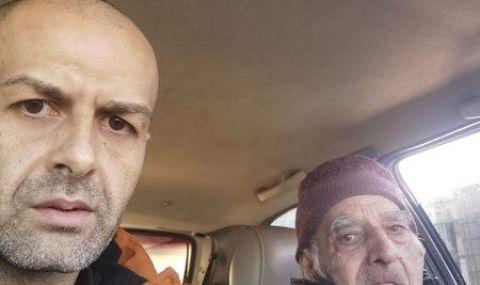 Младеж откри безпомощен човек с голяма сума пари и го отведе в районното
