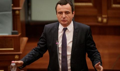 Издигнаха Албин Курти за премиер на Косово