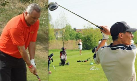 Христо Стоичков предизвика Балъков на голф игрището