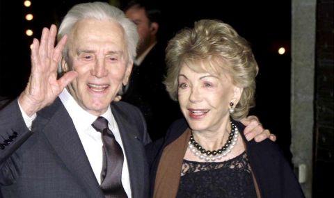 На 102 г. почина съпругата на Кърк Дъглас