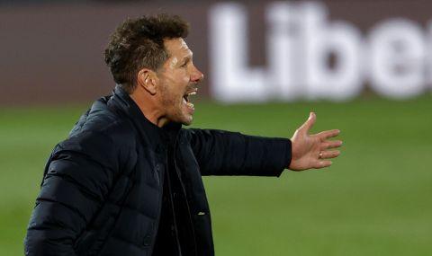 Симеоне намекна, че може да напусне Атлетико Мадрид