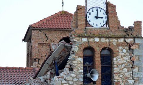 Гърция отново не можа да заспи! Нов силен вторичен трус от 5,7 по Рихтер близо до Лариса
