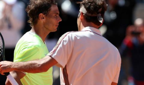 Наслада за феновете: Надал и Федерер си поговориха в социалните мрежи (ВИДЕО)