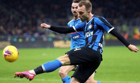 Конте: Ериксен ще играе за Интер, когато аз кажа!