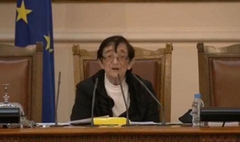 Мика Зайкова: Дано съм добра орисница за този парламент