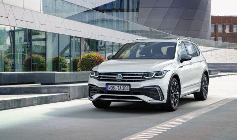 Volkswagen обнови по-големия Tiguan - 5
