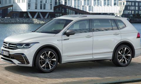 Volkswagen обнови по-големия Tiguan - 1