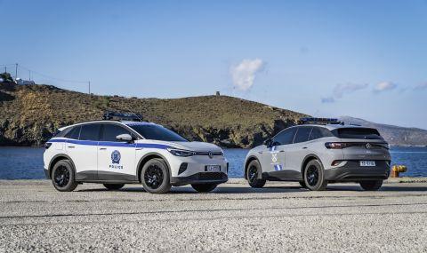 Полицията в Гърция ще използва електрическия VW ID.4