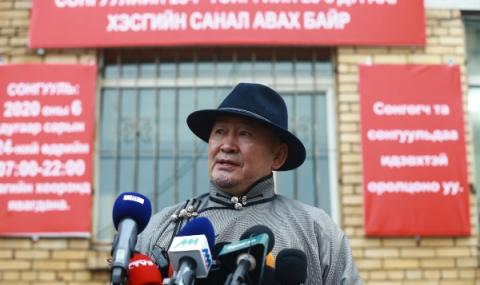 Управляващите спечелиха изборите в Монголия