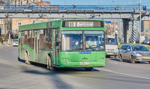 Рускиня роди в градския транспорт