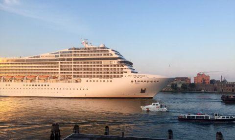 Първи круизен кораб тръгва от Венеция