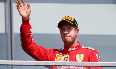Хелмут Марко: Фетел може да изхвърчи от Ferrari