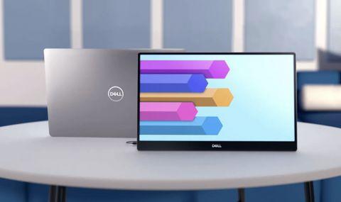 Dell представи първия си преносим монитор - 1