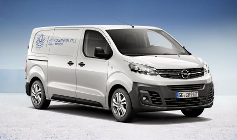 Opel представи бус на водород