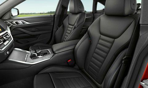 Новото BMW 4 Series Gran Coupe дебютира с познат дизайн и по-големи размери - 7