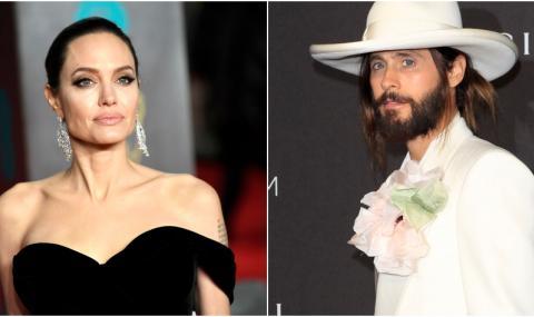 Анджелина Джоли върти любов с ексцентричния Джаред Лето?