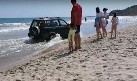 Пиян училищен директор сътвори истински екшън на плажа в Кранево (ВИДЕО) - 1