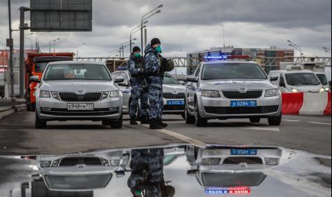 Броят на заразените в Русия е скочил с 800%