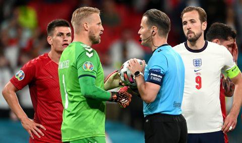 UEFA EURO 2020: УЕФА обвинила Англия заради инцидента с дузпата