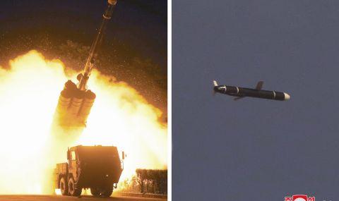 Северна Корея изстреля крилати ракети - 1