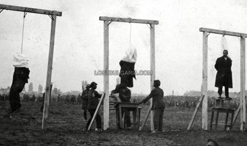 """27 май 1925 г. Обесени са атентаторите от """"Света Неделя"""""""