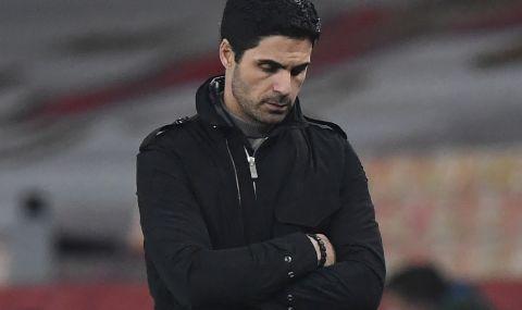 Бунт в Арсенал - футболистите са против треньора Артета