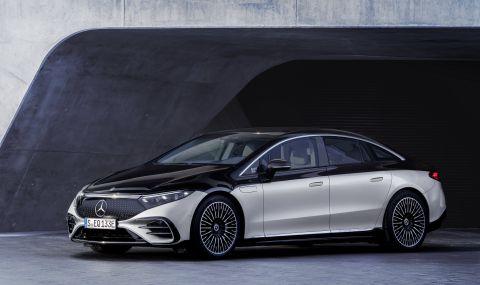 Mercedes представи електрическата S-Klasse - 2