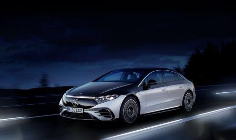 Mercedes представи електрическата S-Klasse - 6