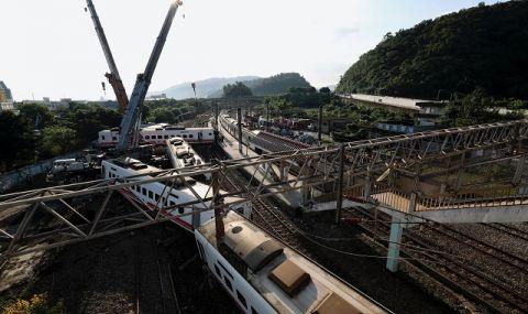 Тежък влаков инцидент в Тайван! Има много жертви