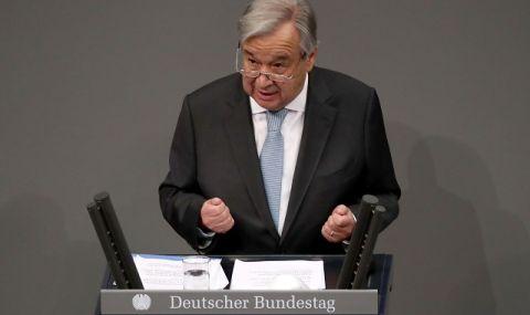 Лисабон предложи Антониу Гутериш за втори мандат начело на ООН