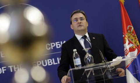 Сръбският външен министър на посещение в Русия