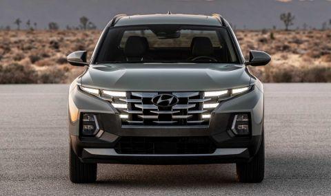 Hyundai представи пикап, който най-вероятно няма да стигне до Европа - 2