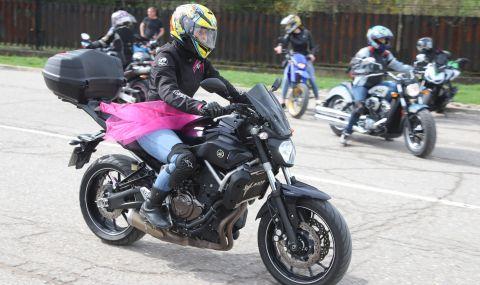 Пътна полиция с акция за мотористите